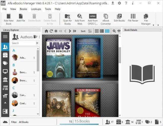 Alfa Ebooks Manager Crack Full Version