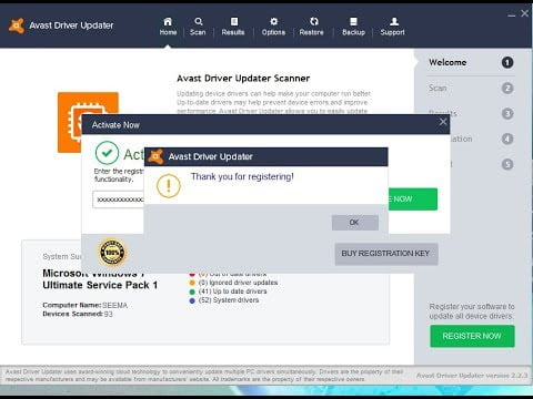 Avast driver Updater License File