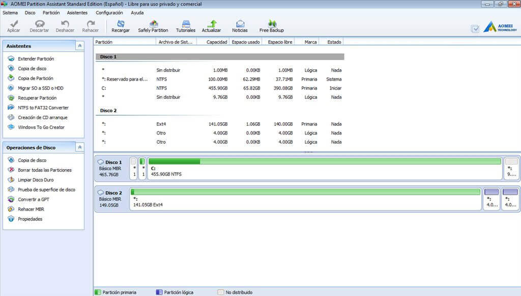 AOMEI Partition Assistant Crack 9.4 With Keygen Latest Download 2021