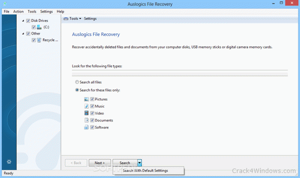Auslogics File Recovery 10.2.0.0 Crack With Activation Number Latest
