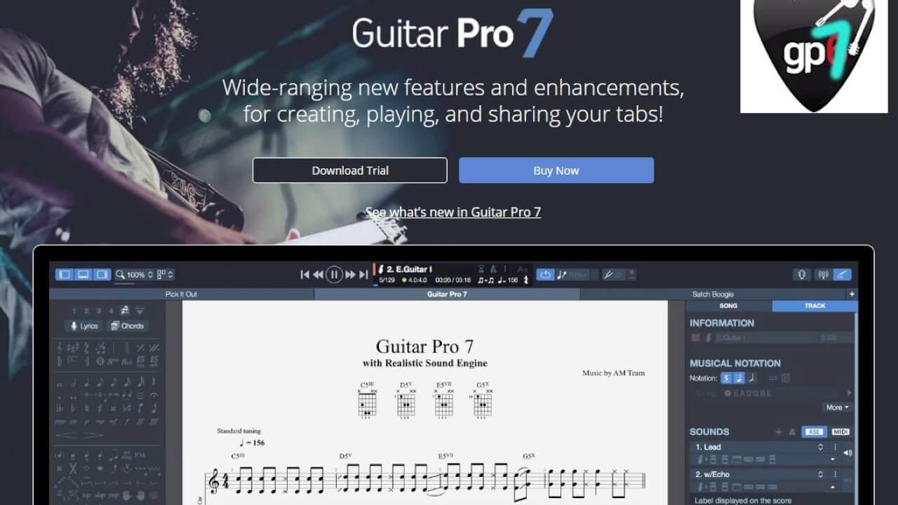 Guitar Pro 7.5.5 Build 1844 Full Crack + License Key latest download