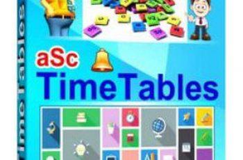 aSc TimeTables 2022 Crack Keygen Registration Code Free Download