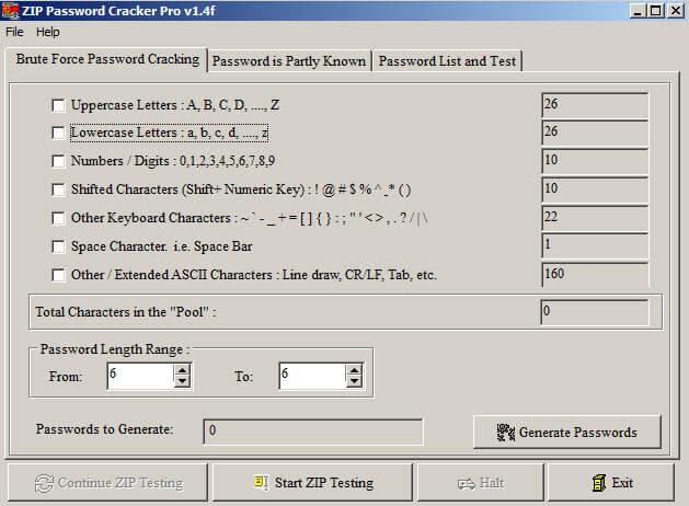 ZIP Password Recover 2.1.2.0 Crack + License Number Download